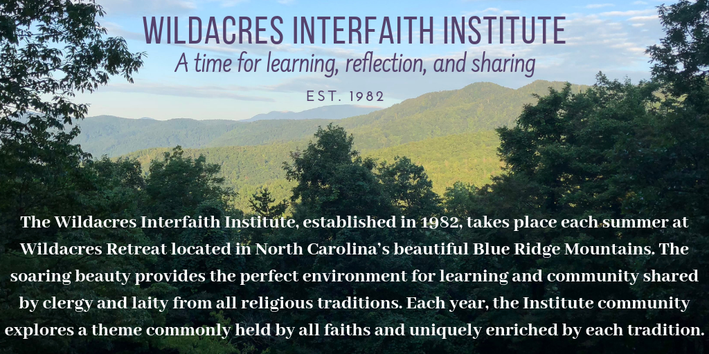 Wildacres Interfaith Institute (1)